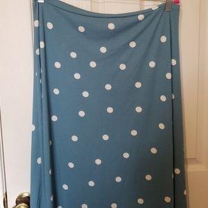 Lularoe NWT Maxi skirt size 2XL
